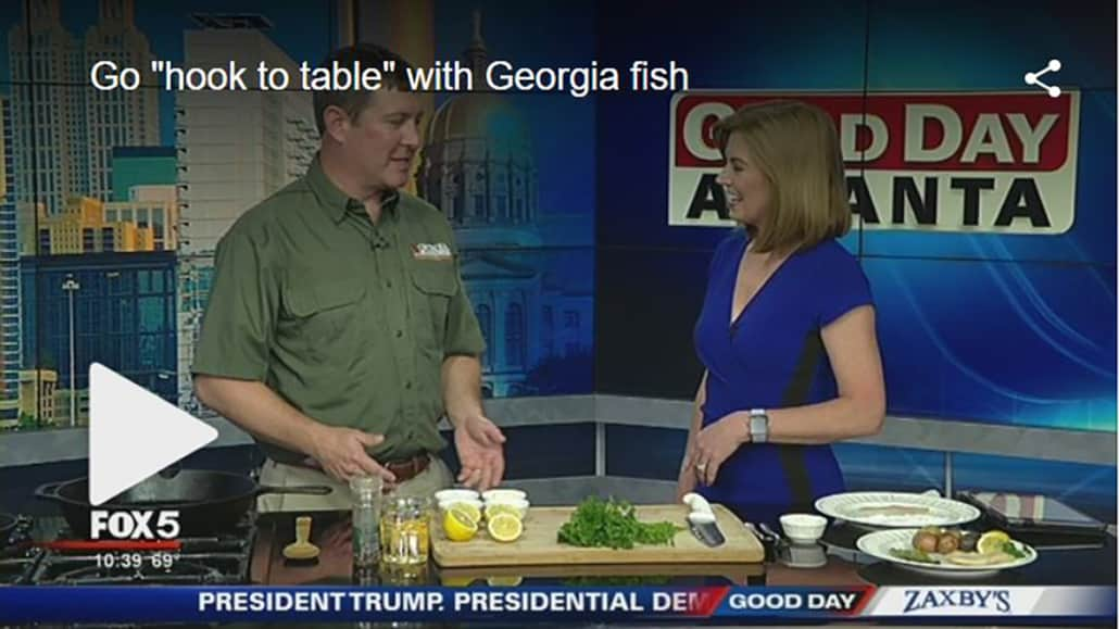 Preparing for National Fishing Day with Charlie Killmaster from Georgia DNR