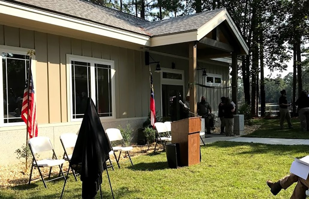 Georgia WRD Cuts Ribbon on New Campground